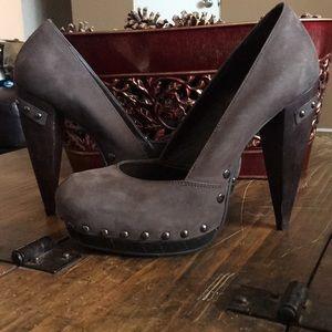 Carvela by Kurt Geiger suede heels sz 39 eur